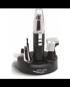 Adler Warranty 24 month(s), Trimmer, Black