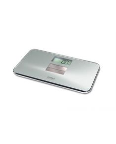 Scales Caso Body Solar Personal, Maximum weight (capacity) 150 kg, Accuracy 1 g, Body Mass Index (BMI) measuring, Silver