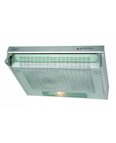 CATA Hood F-2050 Conventional, Energy efficiency class D, Width 50 cm, 220 m³/h, Mechanical control, Halogen, Inox