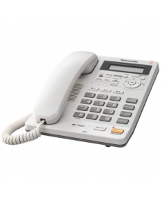 Panasonic Corded KX-TS620FXW White, Caller ID, Built-in display, Speakerphone, 680 g, 167 x 224 x 95 mm, Phonebook capacity 50 entries