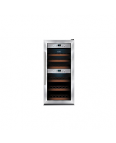 Caso Wine cooler WineMaster 24 Free standing, Table top, Bottles capacity 24, Silver