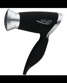 Adler Hair Dryer AD 2219 1250 W, Number of temperature settings 3, Black/Silver