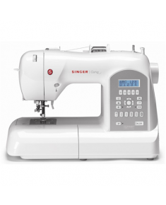 Sewing machine Singer Curvy SMC 8770  Silver/White, Number of stitches 225, Number of buttonholes 7