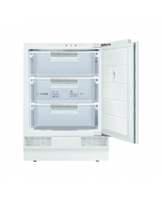 Bosch Freezer GUD15A55 Upright, Height 82 cm, Total net capacity 98 L, A+, Freezer number of shelves/baskets 3, White, Built-in