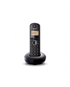 Panasonic Cordless KX-TGB210FXB Black, Built-in display, Caller ID, Phonebook capacity 50 entries