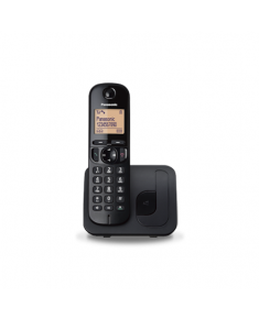 Panasonic Cordless KX-TGC210FXB Black, Built-in display, Speakerphone, Caller ID, Phonebook capacity 50 entries