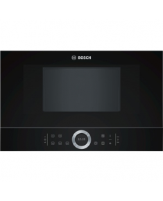 Bosch Microwave Oven BFR634GB1 Small L, Touch, 900 W, Black, Built-in, Defrost function