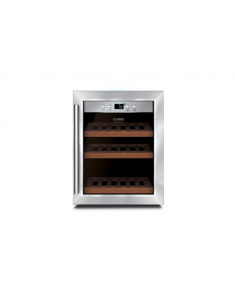 Caso Wine cooler WineSafe 12 Classic Table, Bottles capacity 12, Cooling type COMPRESSOR TECHNOLOGY, Stainless Steel