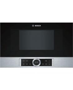 Bosch Microwave Oven BFL634GS1 Touch, 900 W, Stainless steel, Built-in, Defrost function