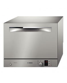 Bosch Dishwasher SKS62E28EU Table, Width 55.1 cm, Number of place settings 6, Number of programs 6, A+, AquaStop function, Stainless steel