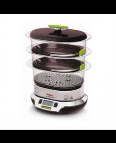 TEFAL Garu puodas VS400333 Vitacuisine Compact Black, 1800 W, Electronic