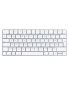 Apple Magic Keyboard MLA22S/A Standard, Wireless, Keyboard layout EN, 231 g, Silver, White, Swedish,