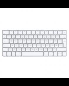 Apple Magic Keyboard MLA22S/A Standard, Wireless, Keyboard layout EN, 231 g, Silver, White, Swedish,