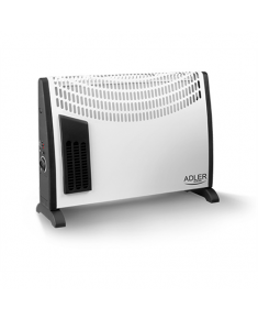 Adler AD 7705 Convection Heater, Number of power levels 3, 2000 W, Number of fins Inapplicable, White