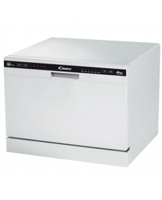 Candy Dishwasher CDCP 6/E Table, Width 55 cm, Number of place settings 6, Number of programs 6, A+, White