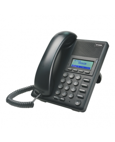 D-LINK DPH-120S, VoIP Phone, Support Call Control Protocol SIP, P2P connections, 2- 10/100BASE-TX Fast Ethernet, Acoustic echo cancellation(G.167), QoS IEEE 802.1Q & IEEE 802.1p Compliant and DiffServ(DSCP), Full range VLAN ID Support, Class of Service Support by VLAN Tag, Adjustable speaker / ringer volume control, LCD display, Call Supplementary service, Headset support D-Link