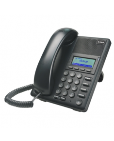 D-LINK DPH-120SE, VoIP Phone with PoE support, Support Call Control Protocol SIP, P2P connections, 2- 10/100BASE-TX Fast Ethernet, Acoustic echo cancellation(G.167), QoS IEEE 802.1Q & IEEE 802.1p Compliant and DiffServ(DSCP), Full range VLAN ID Support, Class of Service Support by VLAN Tag, Adjustable speaker / ringer volume control, LCD display, Call Supplementary service, Headset support D-Link