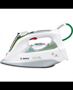 Bosch TDI902431E White, 2400 W, Vertical steam function, Water tank capacity 0.400 L