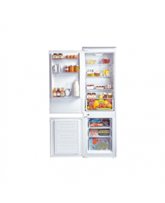 Candy Refrigerator CKBC3380EE/1 Built-in, Combi, Height 185 cm, A++, Fridge net capacity 206 L, Freezer net capacity 60 L, 42 dB, White