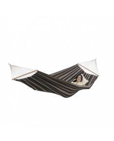Amazonas Brasilia mocca Double Hammock with spreader bar, 210x140 cm, 150 kg