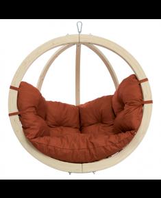 Amazonas Kid's Globo terracotta Hanging Chair, 35 kg