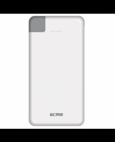 Acme PB08 Slim power bank, 4000mAh 4000 mAh, White