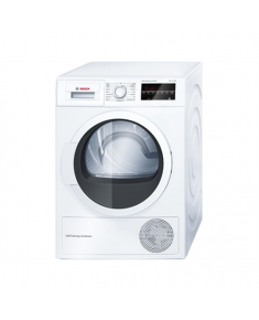 Bosch WTW854L8SN Dryer Machine Condensed, 8 kg, Energy efficiency class A++, Number of programs 9, Self-cleaning, White, LED, Depth 59.9 cm