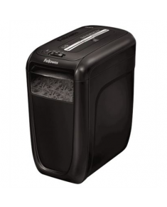 Fellowes Powershred 60Cs Black, 22 L, Credit cards shredding, Warranty 24 month(s), 75 dB, Cross-Cut Shredder, Paper handling standard/output 10 sheets per pass