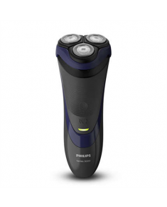 Philips SHAVER Series 3000 dry electric shaver Warranty 24 month(s), Rechargeable, Charging time 8 h, Lithium-Ion (Li-Ion), Number of shaver heads/blades 3, Black