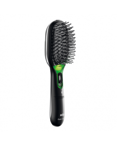 Paddle brush Braun BR710 Warranty 24 month(s), Ion conditioning, Black/Green