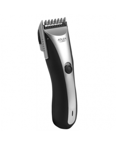 Adler AD 2813 Hair clipper, Cord/cordless operation, 7 length settings, Silver Adler AD 2813 Warranty 24 month(s), Hair clipper, Rechargeable, Silver