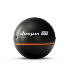 Deeper Smart Fishfinder Sonar Pro, Wifi for iOS, Android Black