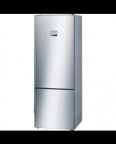 Bosch Refrigerator KGF56PI40 Free standing, Combi, Height 193 cm, A+++, No Frost system, Fridge net capacity 375 L, Freezer net capacity 105 L, Display, 42 dB, Inox
