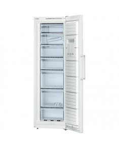 Bosch Freezer GSV36VW32 Upright, Height 186 cm, Total net capacity 237 L, A++, Freezer number of shelves/baskets 7, White, Free standing
