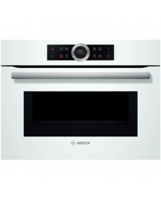 Bosch Compact oven with microwave CMG633BW1 45 L, White, Regular, Touch