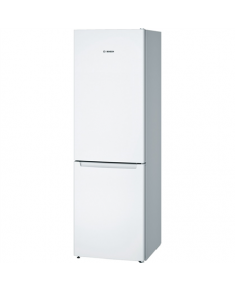 Bosch Refrigerator KGN36NW30 Free standing, Combi, Height 186 cm, A++, No Frost system, Fridge net capacity 215 L, Freezer net capacity 87 L, 42 dB, White