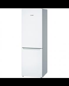 Bosch Refrigerator KGN36NW30 Free standing, Combi, Height 186 cm, A++, No Frost system, Fridge net capacity 215 L, Freezer net capacity 87 L, 42 dB, White