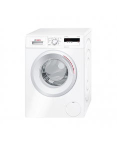 Bosch Washing machine WAN240A7SN  Front loading, Washing capacity 7 kg, 1200 RPM, Direct drive, A+++, Depth 55 cm, Width 59,8 cm, White, Display, LED