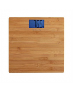 DomoClip LIVOO Scales DOM306 Maximum weight (capacity) 150 kg, Accuracy 100 g, Wood texture