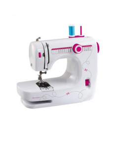 Sewing machine DomoClip DOM343 White, Number of stitches 14, Automatic threading
