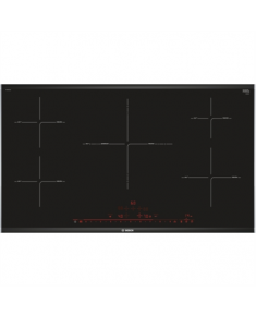 Bosch Hob PIV975DC1E Induction, Number of burners/cooking zones 5, Black, Display, Timer, 91.6 cm