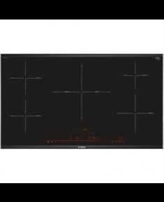 Bosch Hob PIV975DC1E Induction, Number of burners/cooking zones 5, Black, Display, Timer, 91.6 cm
