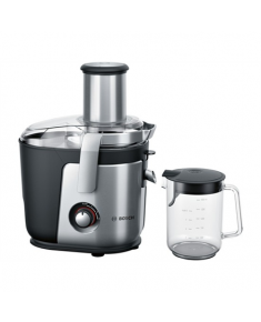 Bosch Juicer MES4010 Type Centrifugal juicer, Black/Silver, 1200 W, Extra large fruit input