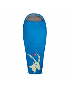 Gruezi-Bag Cloud Mumie Steinbock, Sleeping bag, 225x80(55) cm, +7/+2/-12 °C, Left side