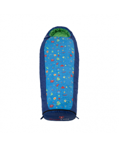 Gruezi-Bag Kids Monster Grow, Sleeping bag, 140-180x65(45) cm, Right zipper