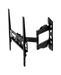 "Acme Wall mount, MTMM34, 32 - 50 "", Full motion, Maximum weight (capacity) 25 kg, VESA 100x100, 200x200, 300x300, 400x300, 400x400 mm, Black"