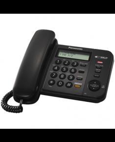 Panasonic Corded KX-TS580FXB Built-in display, Speakerphone, 618 g, 95 x 190 x 196 mm, Black, Caller ID, Phonebook capacity 50 entries