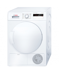 Bosch Dryer WTH83007SN Condensed, 7 kg, Energy efficiency class A+, White, LED, 59.8 cm, Depth 59.9 cm,