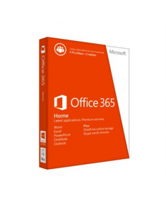 Microsoft 6GQ-00714 Office 365 Home Full packaged product (FPP), License term 1 year(s), Latvian, Medialess