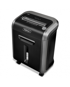 Fellowes Powershred 79Ci Black, 23 L, Shredding CDs, Credit cards shredding, Paper handling standard/output 16 sheets per pass, 100% Jam Proof Cross-Cut Shredder, 54 dB, Warranty 24 month(s)